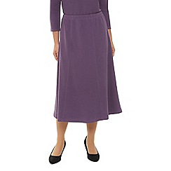 Eastex - Dark Mauve Textured Skirt