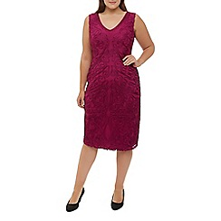 Windsmoor - Raspberry Cornelli Dress