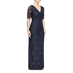 Jacques Vert - Lace And Bead Cowl Maxi Dress