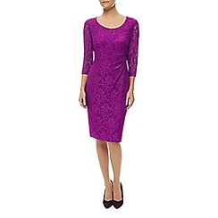 Precis Petite - Scoop Neck Lace Dress