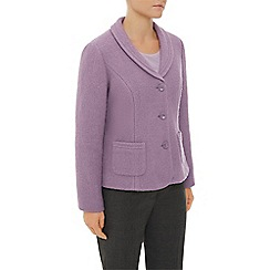 Eastex - Mauve Boiled Wool Jacket