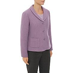 Eastex - Mauve Boiled Wool Jacket