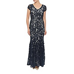 Jacques Vert - Cornelli And Lace Maxi Dress
