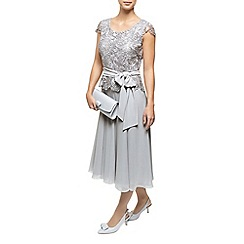 Jacques Vert - Lace Bodice Chiffon Dress