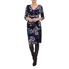 Kaliko - Autumnal Bloom Jersey Dress