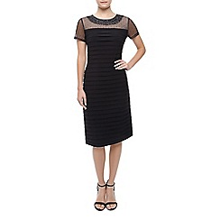 Precis Petite - Embellished Pleated Dress