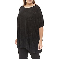 Windsmoor - Black Sparkle Jersey Top
