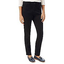 Dash - Black jean straight long