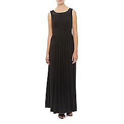 Kaliko - Embellished Yoke Maxi Dress