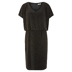 Kaliko - Sparkle Jersey Dress With Trim