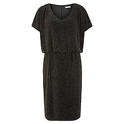 Kaliko - Sparkle Jersey Dress With Trim