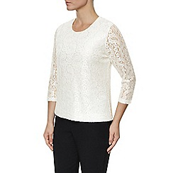 Eastex - Ivory Lace Top