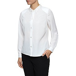 Eastex - Lace Collar Blouse