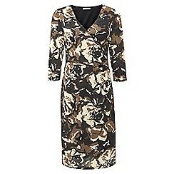 Kaliko - Floral Print Wrap Dress