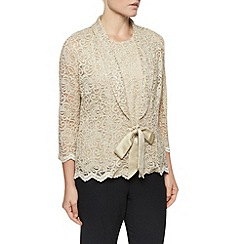 Eastex - Gold Lace 2 In 1 Top