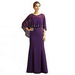 Jacques Vert - Embellished Cape Dress
