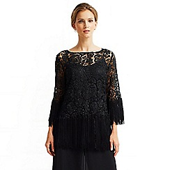 Jacques Vert - Tassle Evening Tunic Top