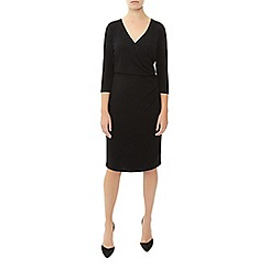 Kaliko - Solid Wrap Dress