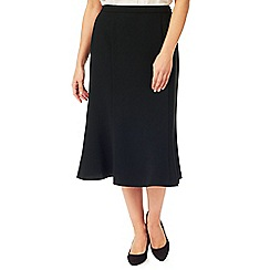 Eastex - Crepe Fit & Flare Skirt Short