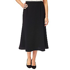 Eastex - Crepe Fit & Flare Skirt