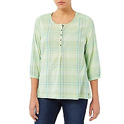 Dash - Open Collared Check Shirt