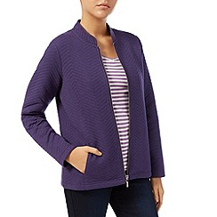 Dash - Iris Quilt Zip Jacket