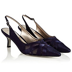 Jacques Vert - Cross front mesh shoe