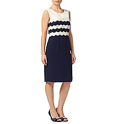 Jacques Vert - Petite Scallop Edge Dress