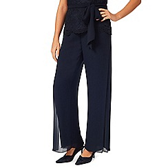 Jacques Vert - Pleated side chiffon trouser