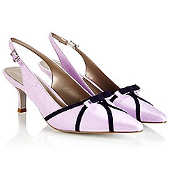Jacques Vert - Stripe Overlay Shoe