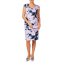 Jacques Vert - Watercolour peony print dress