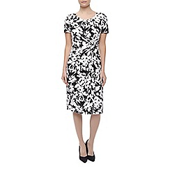 Precis Petite - Mono Regatta Print Dress