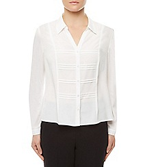 Eastex - Pintuck Panel Blouse