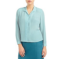 Eastex - Scallop pleat blouse