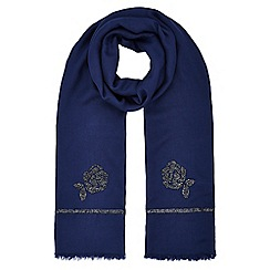 Jacques Vert - Flower Beaded Scarf