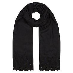 Jacques Vert - Lace Cluster Stone Scarf