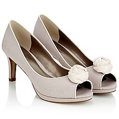 Jacques Vert - Rose Trim Shoe