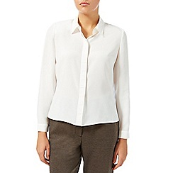 Eastex - Pintuck placket blouse