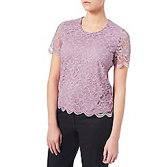 Eastex - Lilac Lace Top