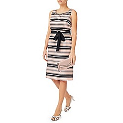 Jacques Vert - Stripe And Embellished Dress