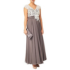 Jacques Vert - Lace Bodice And Chiffon Dress