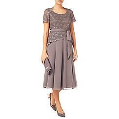 Jacques Vert - Lace Top Chiffon Dress