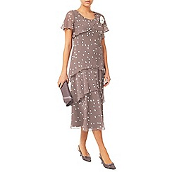 Jacques Vert - Spot Hanky Hem Dress