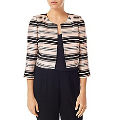 Jacques Vert - Stripe Crop Jacket