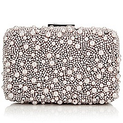 Jacques Vert - Pearl Embellished Clutch Bag