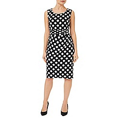 Precis Petite - Polka Dot Jersey Dress