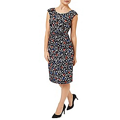 Precis - Leaf Print Jersey Dress