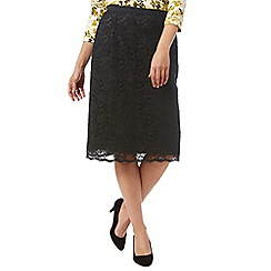 Eastex - Lace Pencil Skirt