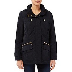 Dash - Navy Wadded Parker Jacket