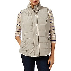 Dash - Stone Peached Padded Gilet